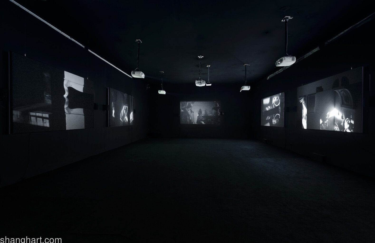 installation view in Mingshen Art Museum